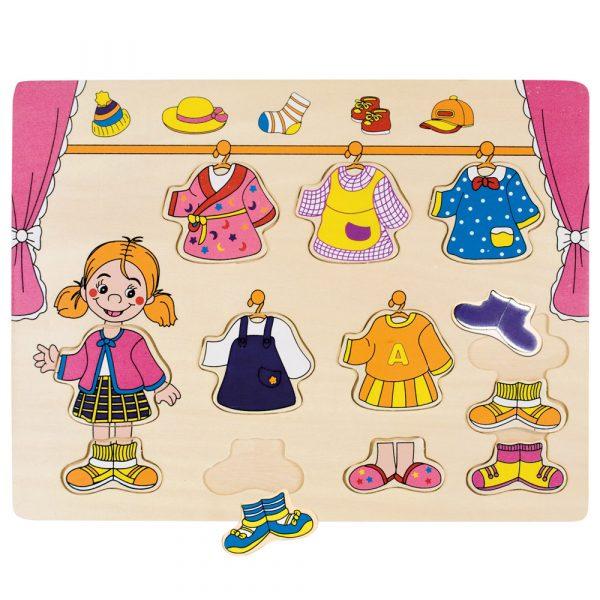 Puzzle šatník