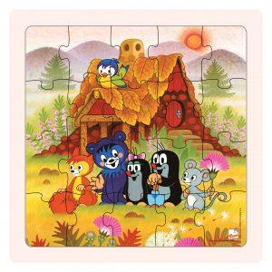 Puzzle Krtečková a přátelé 20d