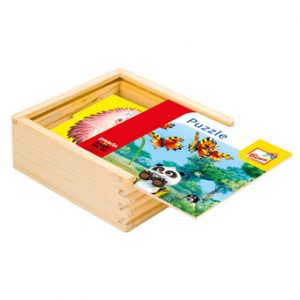 Krtek a Panda, puzzle bar,16 d