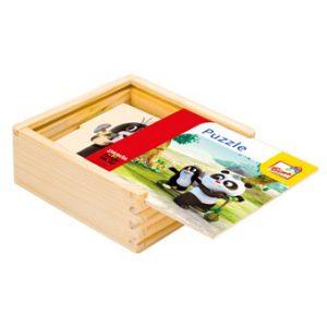 Krtek a Panda,puzzle natur,16d
