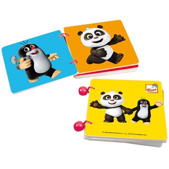 Krtek a Panda, dř. knížka barvy