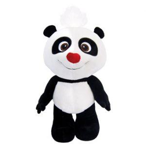 Panda plyš, 15 cm