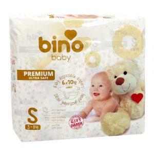 Pleny BINO BABY PREMIUM S, dárek