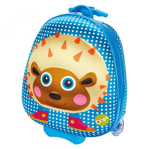 Kufřík s kolečky, ježek