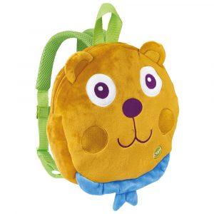 Plyšový batoh, medvěd